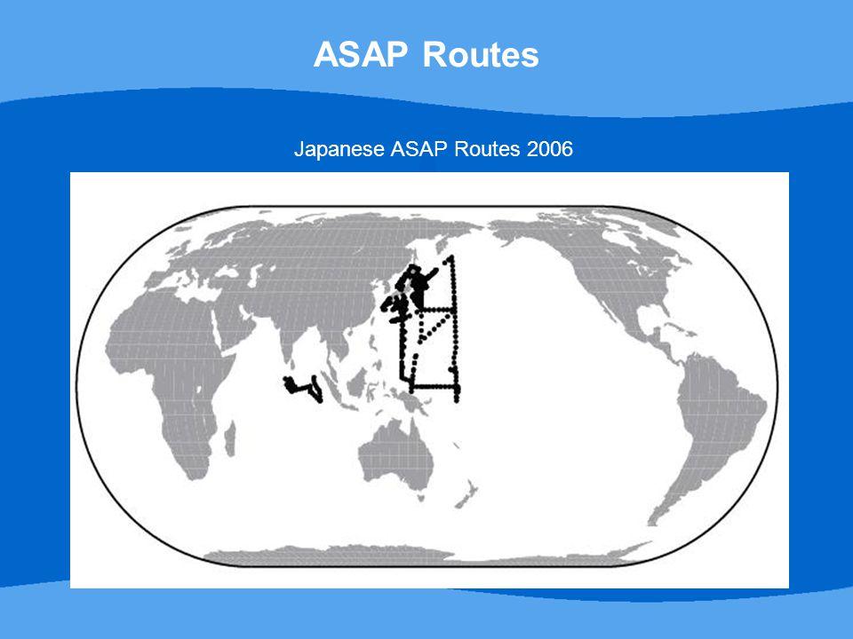 Japanese ASAP Routes 2006 ASAP Routes