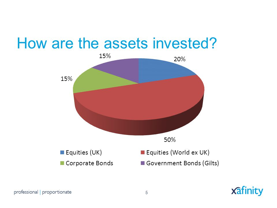 5 How are the assets invested?