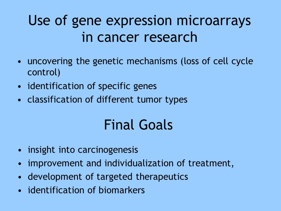 SRBCT Example: 6567 genes, 83 patients, 4 classes 1.