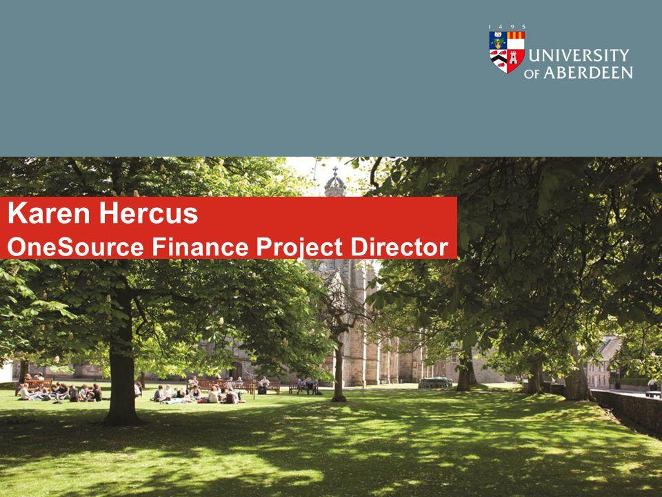 Karen Hercus OneSource Finance Project Director