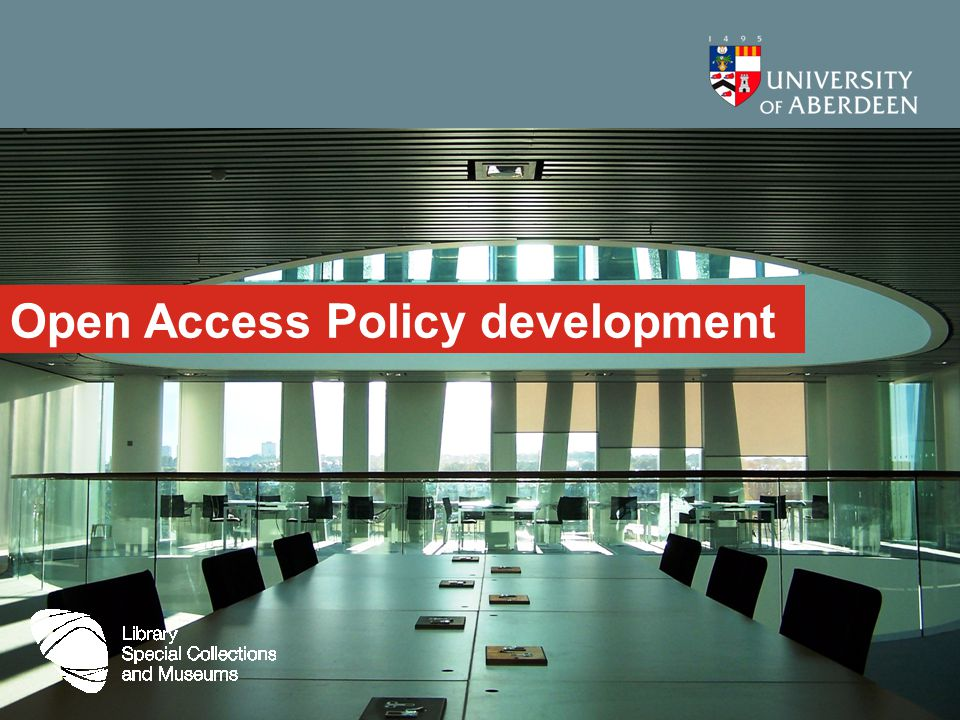 Open Access Policy development
