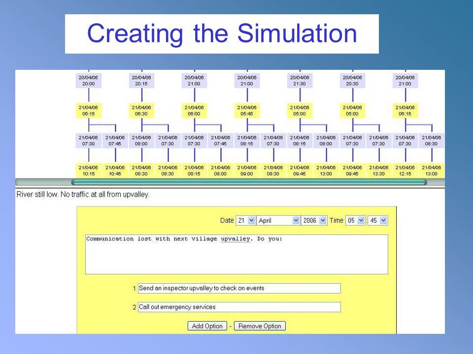 Creating the Simulation
