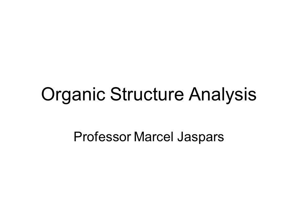 Organic Structure Analysis, Crews, Rodriguez and Jaspars 2D EXERCISE 1.