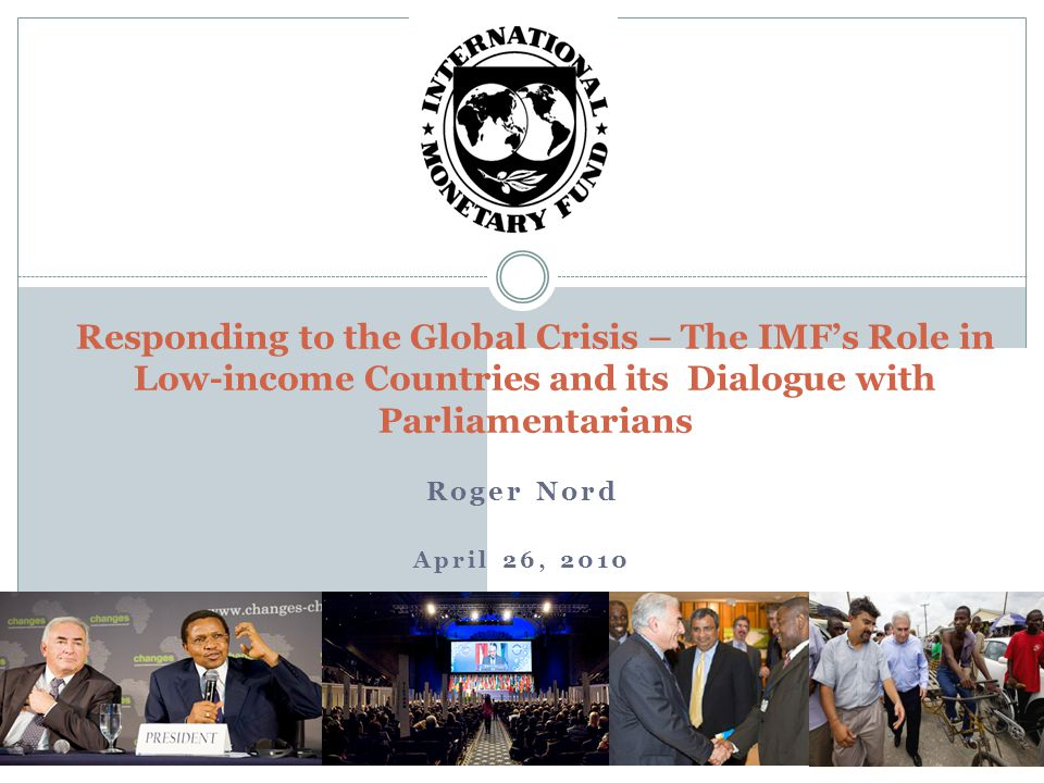 Outline 2 What is the IMF – Basic Overview .How have LICs fared during the crisis.