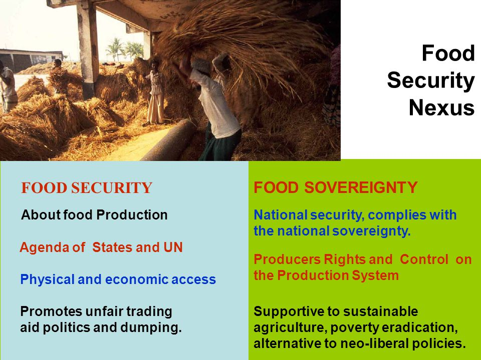Grassroots Practices to Secure Food Sovereignty Advocacy for pro-farmer Policy Adoption Increase and Rationalize Subsidy mainly to- irrigation, Develop water reservoir rather subsidizing on diesel Develop community based seed store through involving Union Parishad Promote research of bio- fertilizers and bio-pesticides Protect marginal farmers from land less ness.