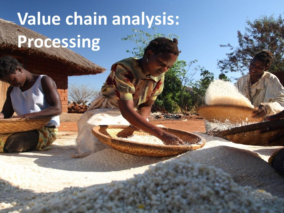 Value chain analysis: Processing