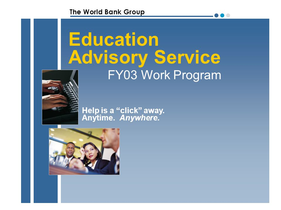 The World Bank Group ●●●●●● EAS FY03 Work Program Query Response Responded to total of 954 queries for first 2 quarters.