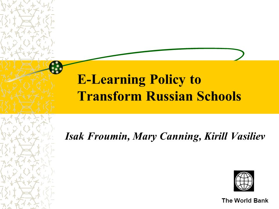 Main question: Could we develop an efficient and effective e-Education strategy to justify investment into e- Education?