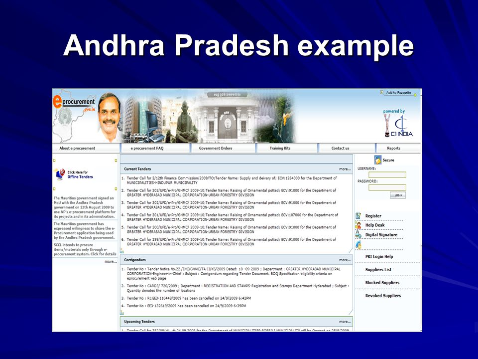 Andhra Pradesh example