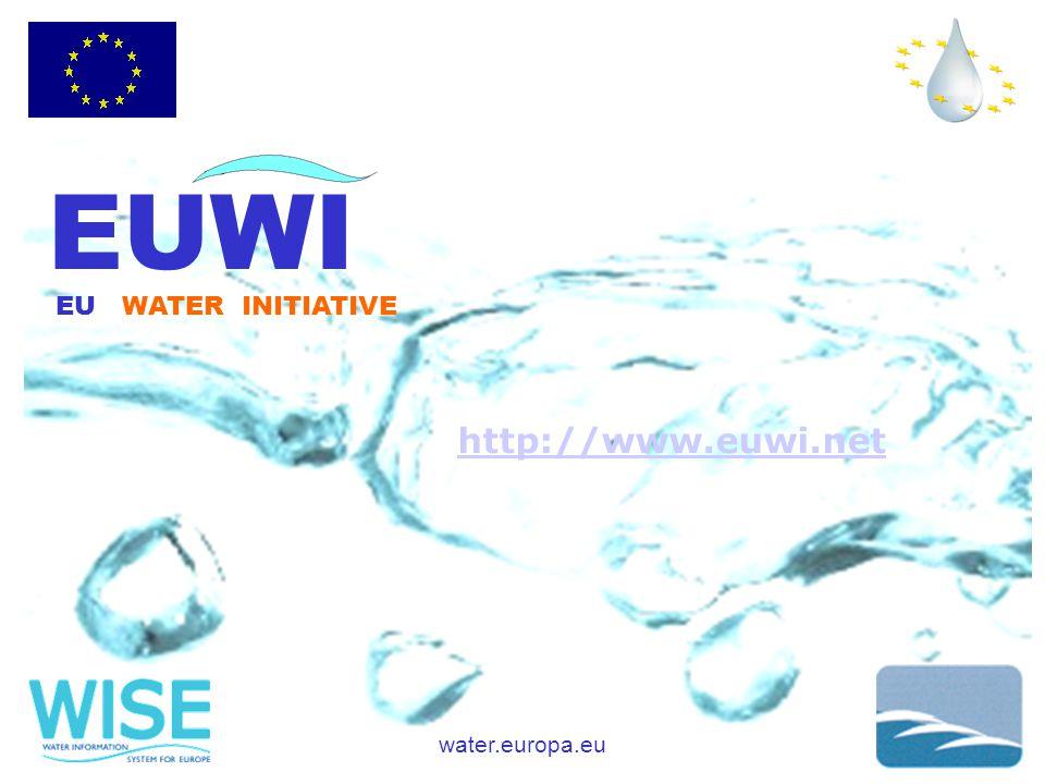 water.europa.eu EUWI EU WATER INITIATIVE http://www.euwi.net