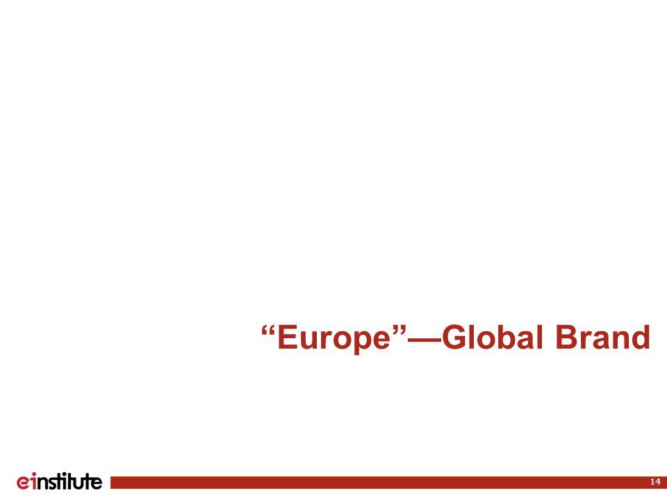 Europe —Global Brand 14