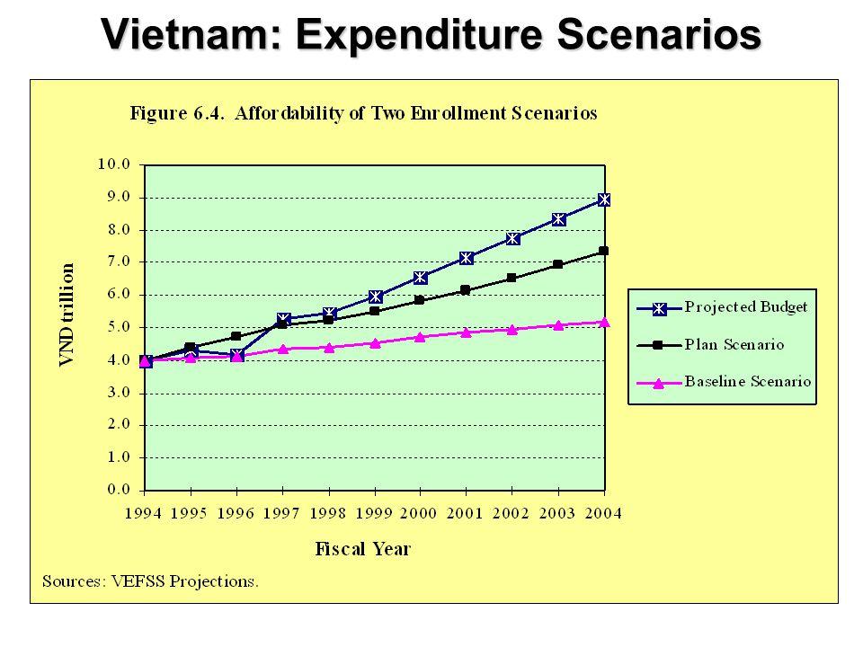 Vietnam: Expenditure Scenarios