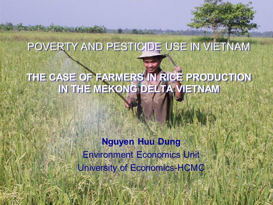 POVERTY AND PESTICIDE USE IN VIETNAM - THE CASE OF FARMERS IN RICE PRODUCTION IN THE MEKONG DELTA VIETNAM  Pesticide use practices Farmers Behavior in Buying Pesticides (percentage of farmers) N=603 Income groupsThe same brands Change regularlyChange sometimes 150.621.527.8 233.630.935.5 333.635.131.3 427.543.828.8 539.331.129.5 629.932.038.1
