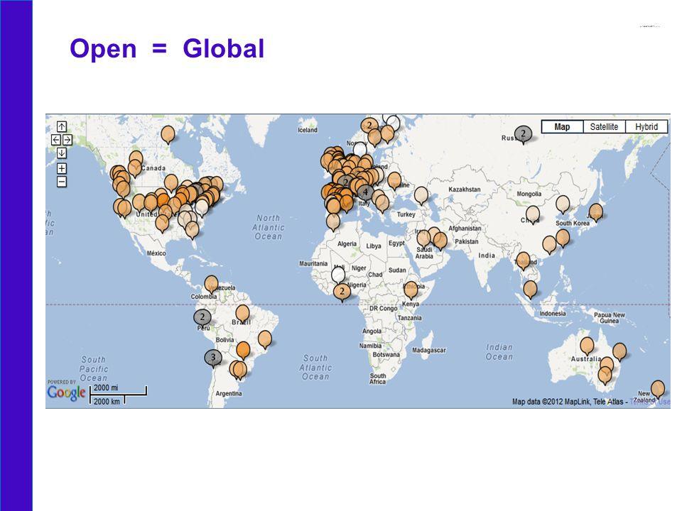 Open = Global