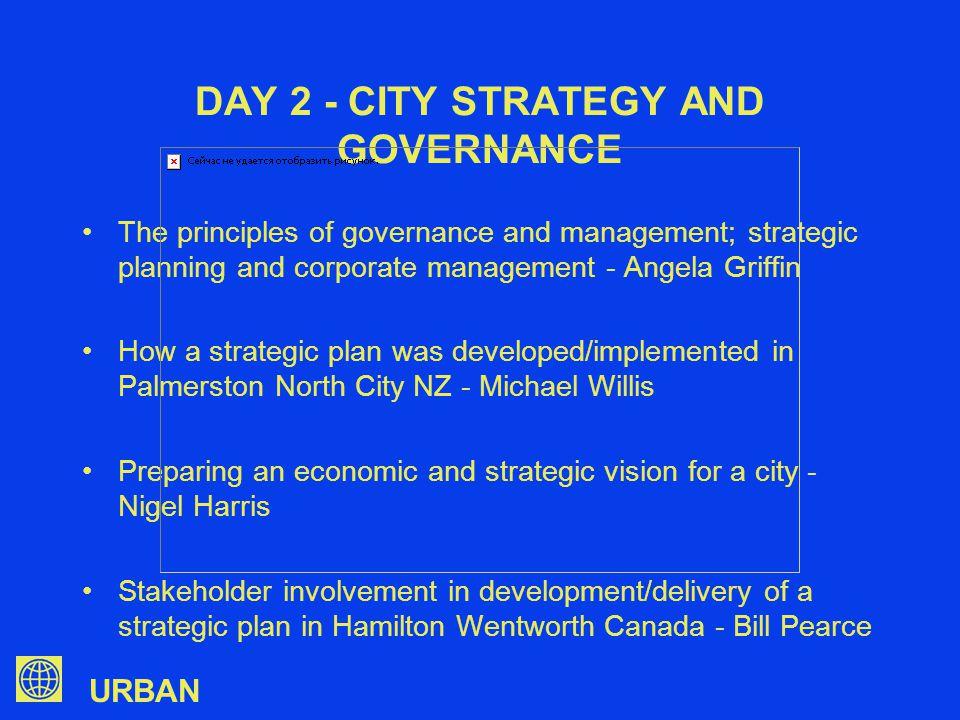 URBAN CITY STRATEGIC VISION OR COUNCIL STRATEGIC PLAN.