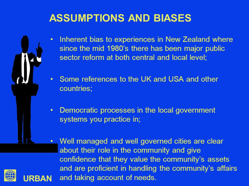 URBAN WHAT SHOULD BE THE ROLE OF A LOCAL GOVERNMENT AND WHO SHOULD DETERMINE THAT.