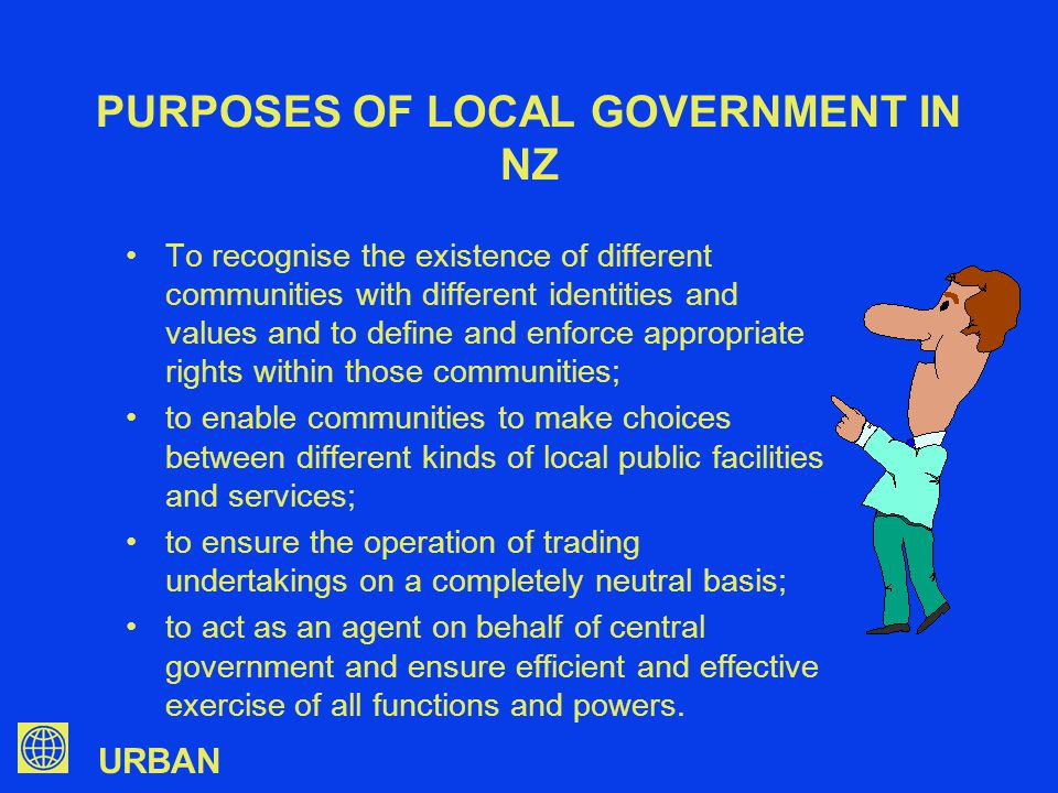 URBAN PROBLEMS (CONT) How do you assure politicians that it is not supplanting their decision-making role on behalf of the community.