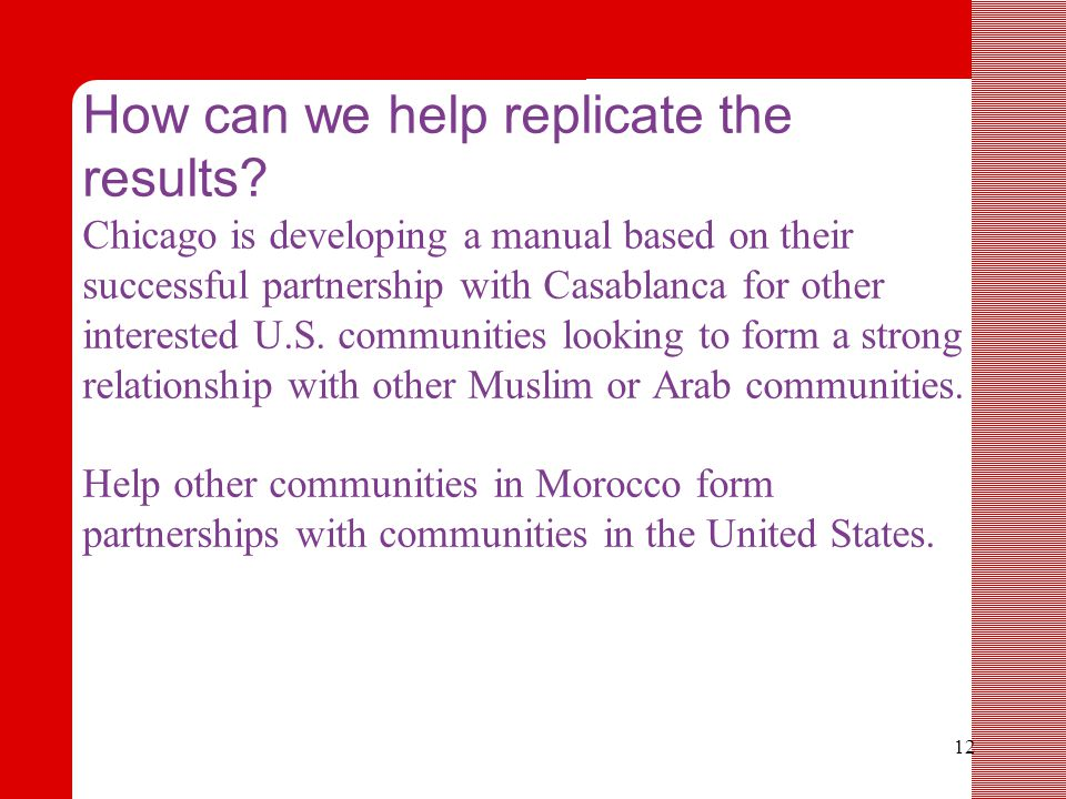 12 How can we help replicate the results.