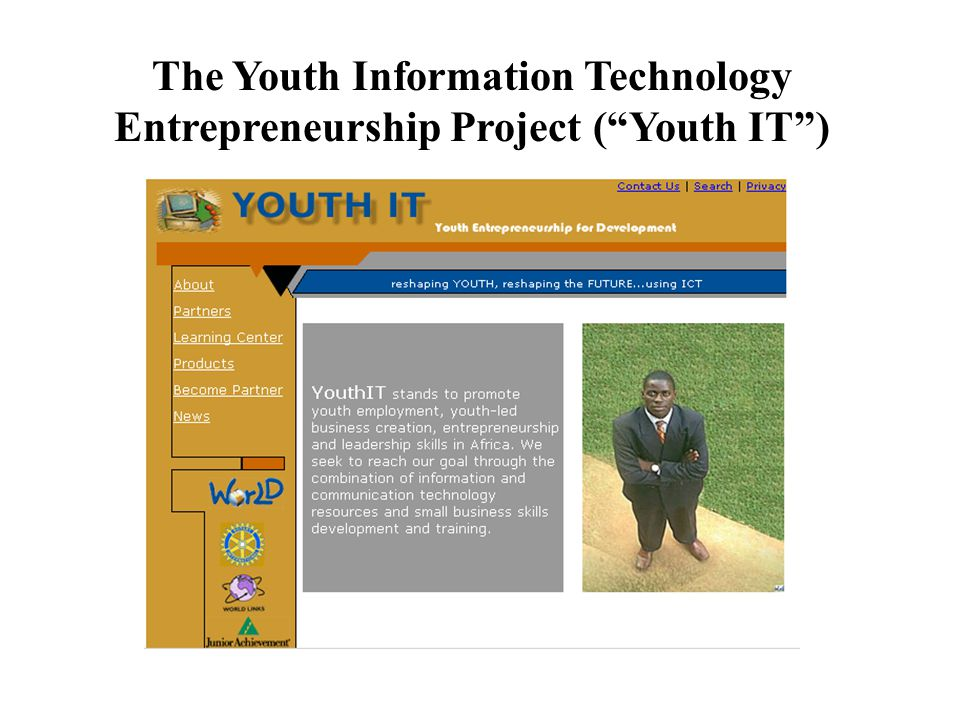 The Youth Information Technology Entrepreneurship Project ( Youth IT )