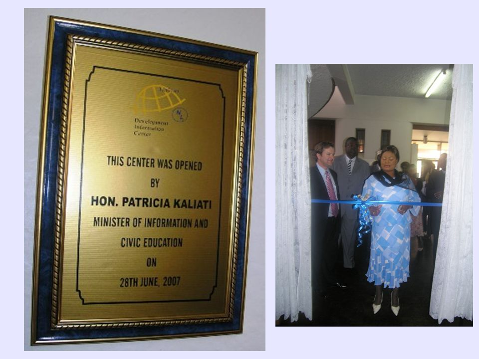 The Centre is a partnership between the World Bank and the National Library Services.