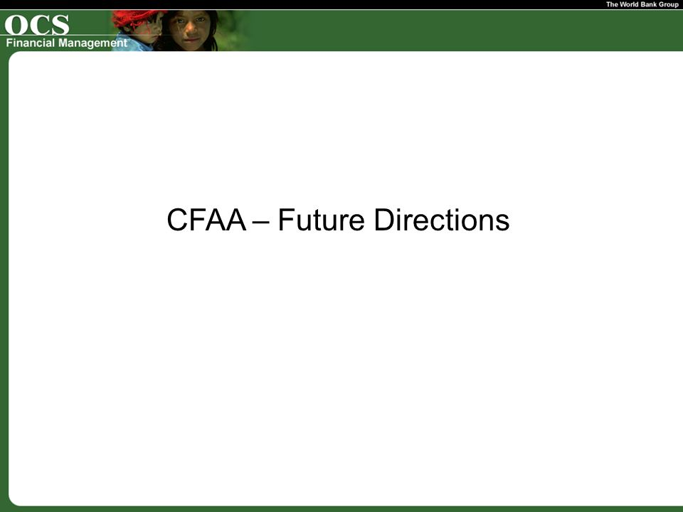 CFAA – Future Directions