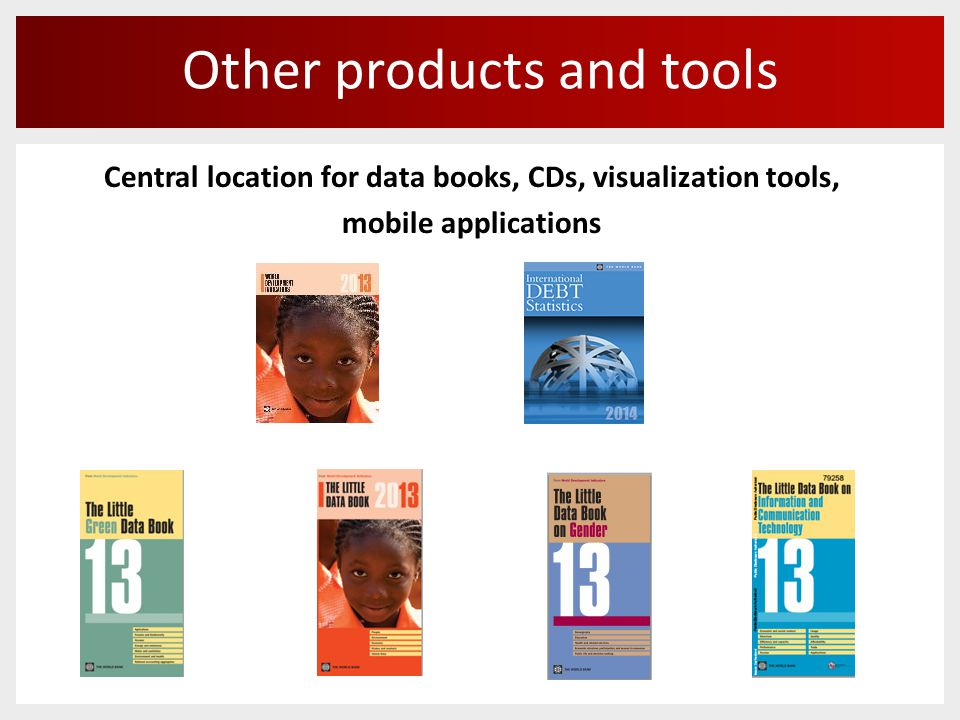 Other products and tools Central location for data books, CDs, visualization tools, mobile applications