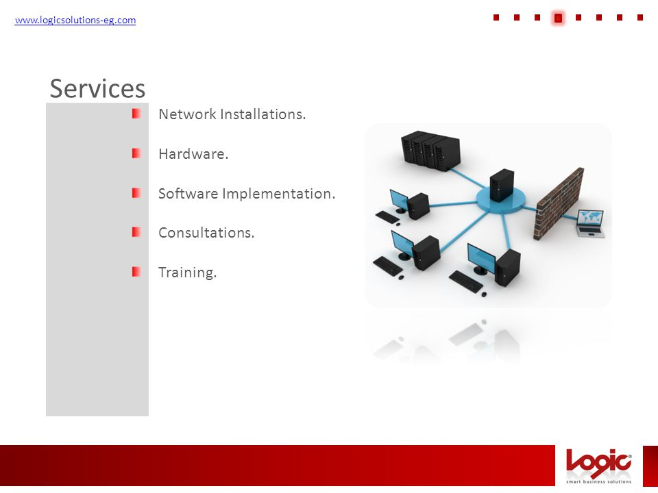 www.logicsolutions-eg.com Technical Support Logic smart business solutions provide a single point of contact to handle all your software support needs LOGIC provides a technical support service portfolio, including individual problem fixes and product usage advice, for all of your LOGIC software products.