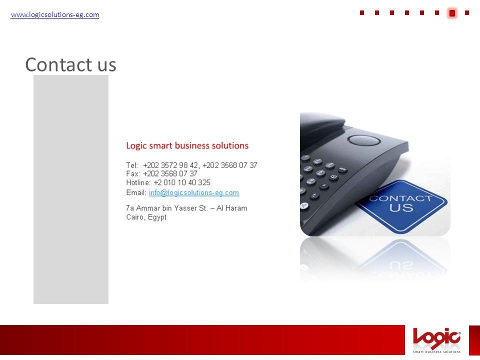 www.logicsolutions-eg.com Contact us