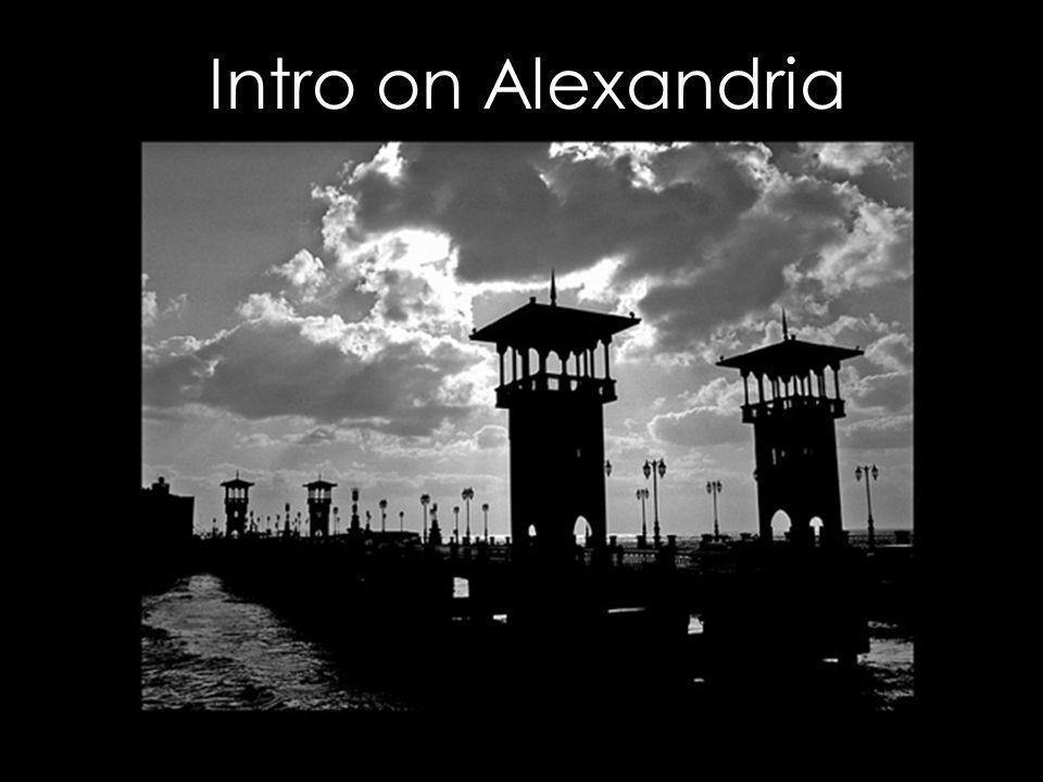 Intro on Alexandria
