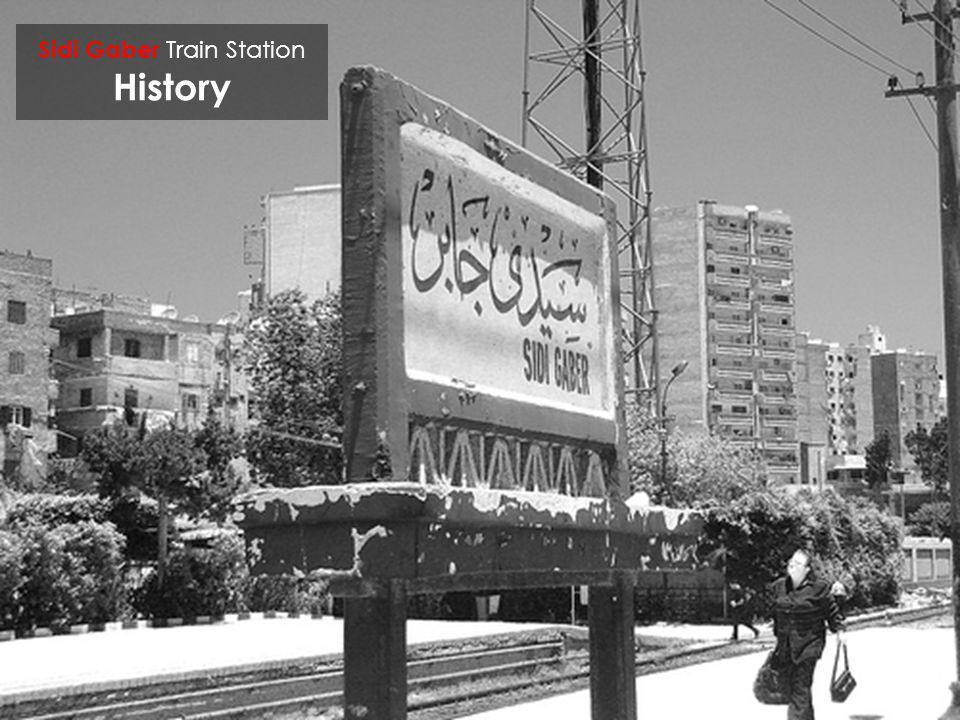 Sidi Gaber Train Station History