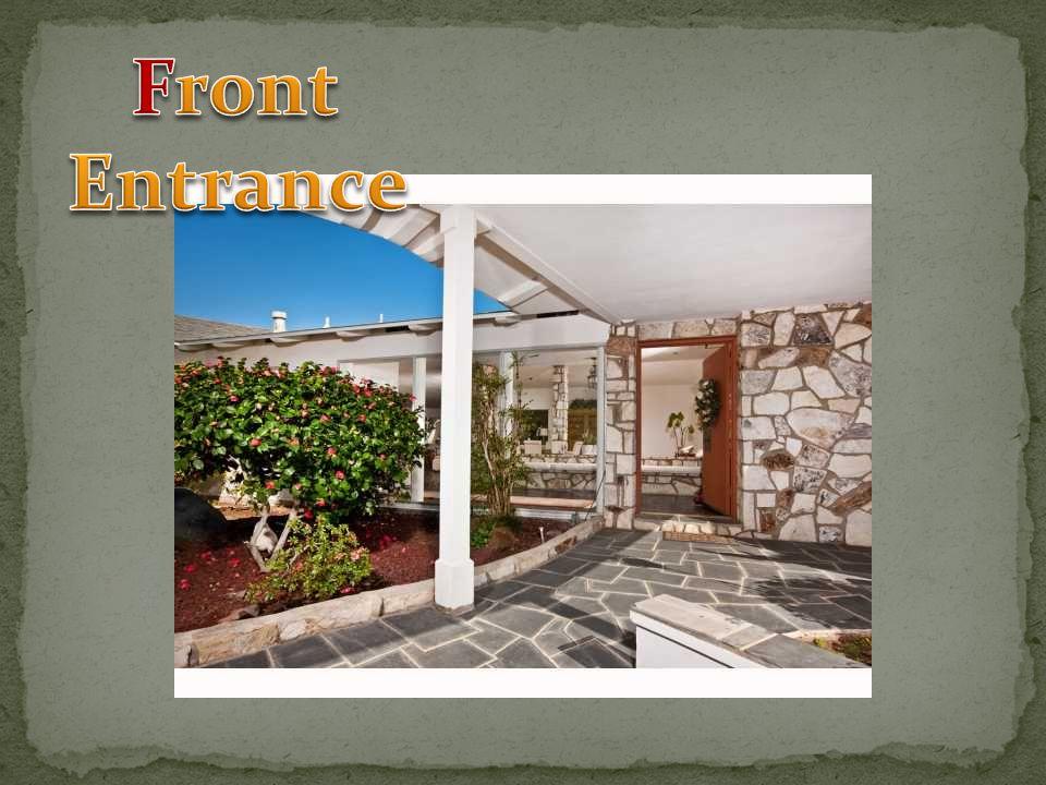 Formal Living RoomFoyer