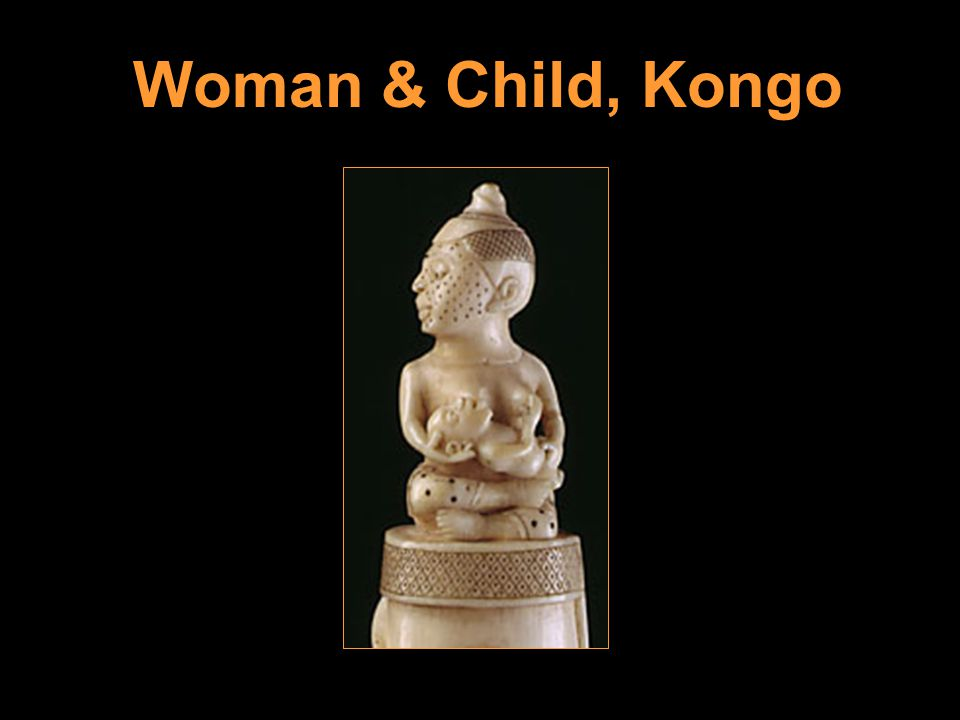 Woman & Child, Kongo