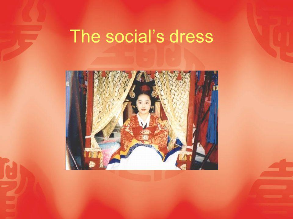 The social's dress