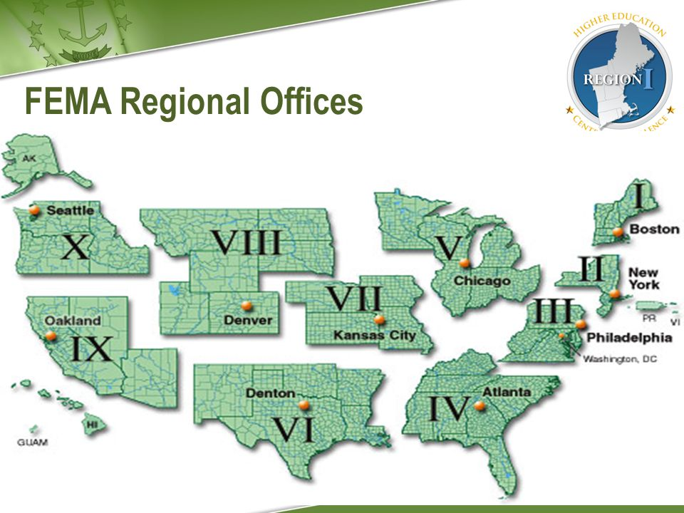 FEMA Regional Offices