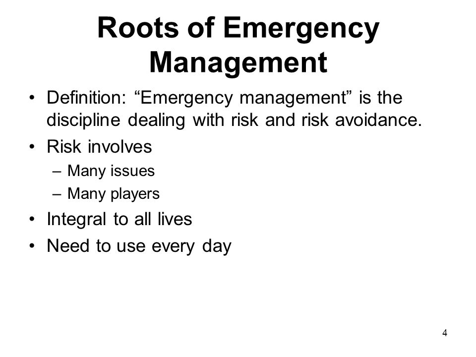 35 Homeland Security and Emergency Management Law After 9-11 HSPD 9: Defense of United States Agriculture and Food (2004) –Food safety –Identify and prioritize sector-critical infrastructure and key resources –Develop early warning –Mitigate vulnerabilities