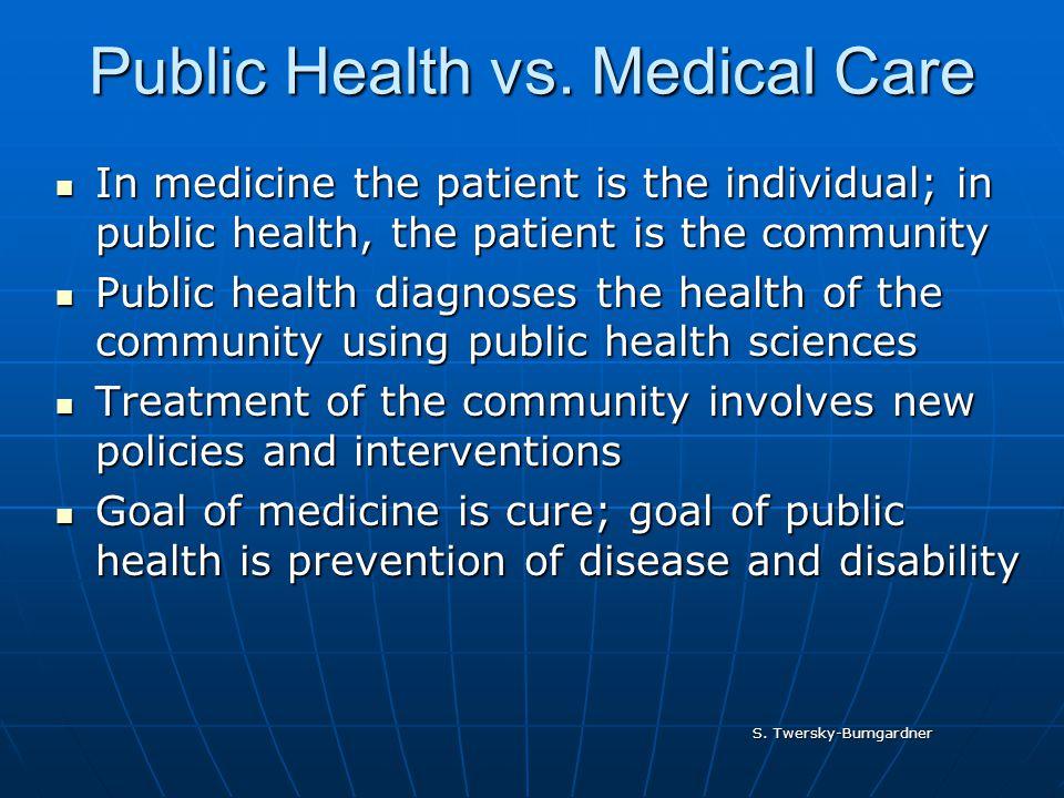 S. Twersky-Bumgardner Public Health vs.