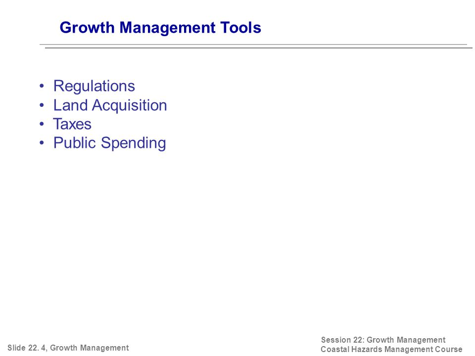 Growth Management Tools Slide 22.
