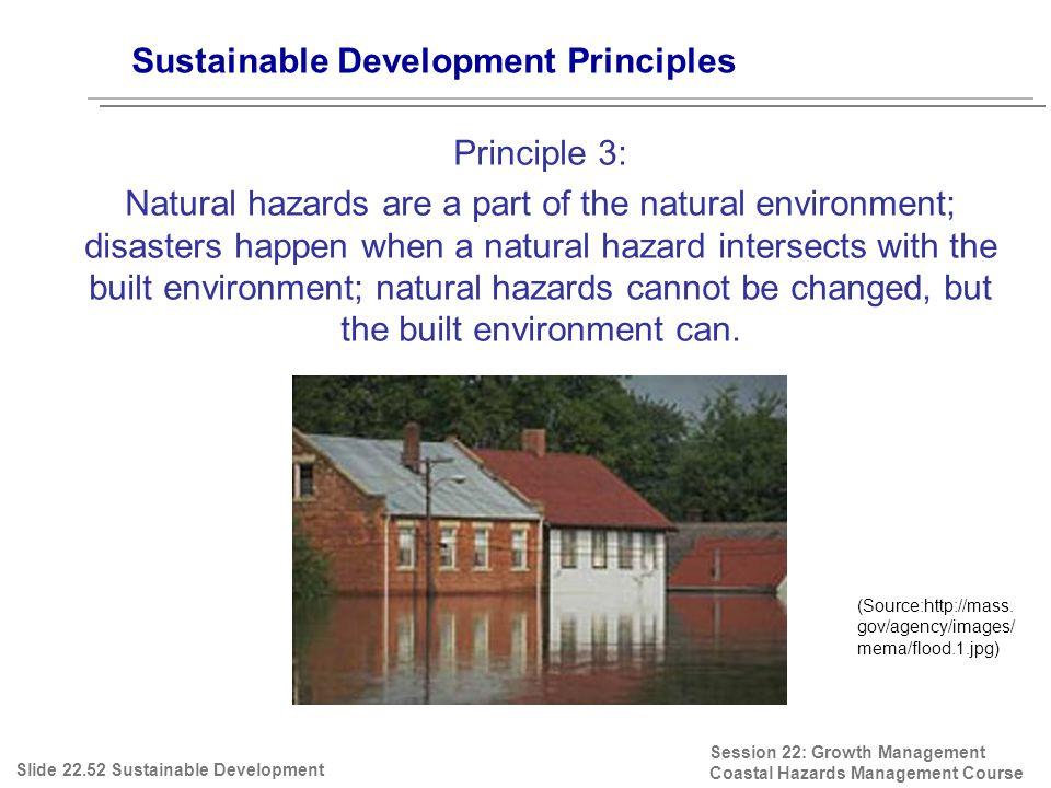 Session 22: Growth Management Coastal Hazards Management Course (Source:http://mass.