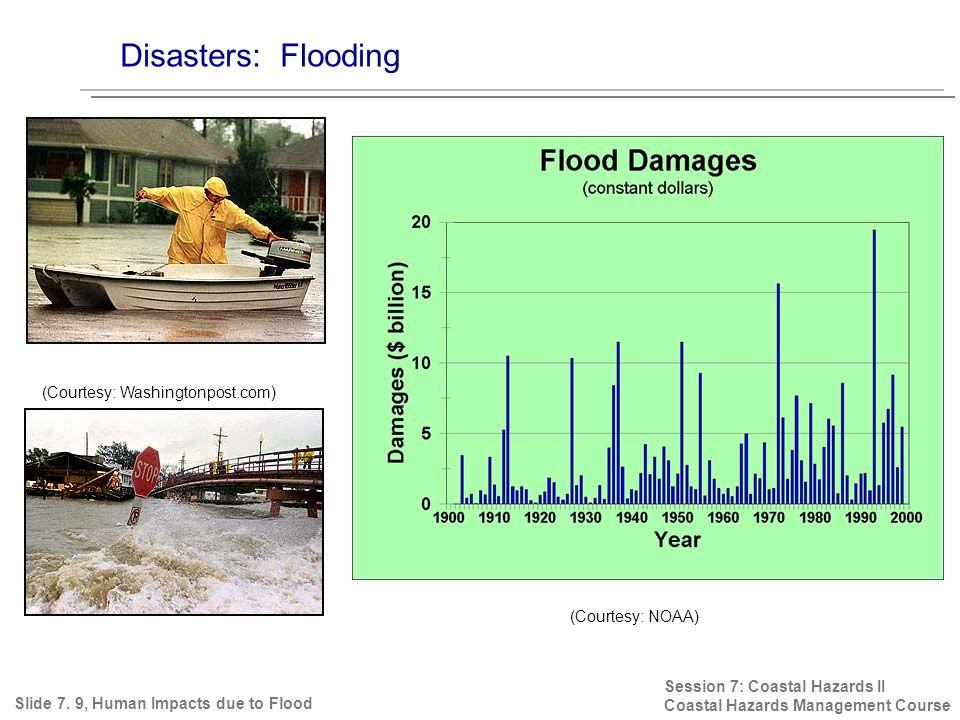 Disasters: Flooding Session 7: Coastal Hazards II Coastal Hazards Management Course Slide 7.