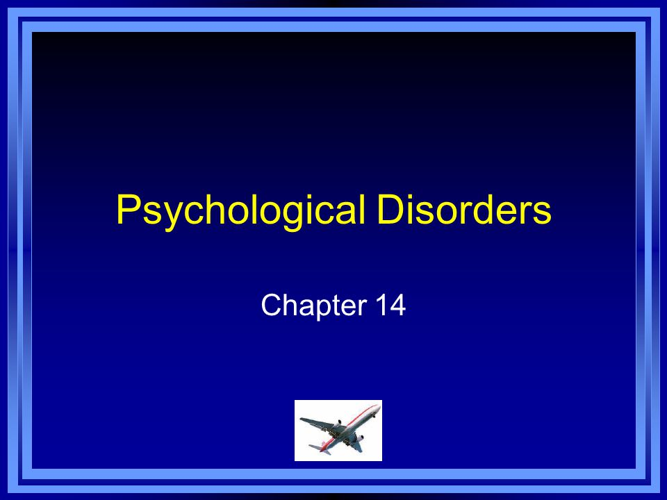 Chapter 14 Learning Objective Menu LO 14.1 Early explanations of mental illness LO 14.2 Defining abnormal behavior LO 14.3 How psychological disorders relate to brain and body LO 14.4 How different viewpoints explain psychological disordersLO 14.4 How different viewpoints explain psychological disorders LO 14.5 Abnormality in other cultures LO 14.6 How psychologists diagnose disorders LO 14.7 Types of psychological disorders LO 14.8 Types and symptoms of anxiety disorders LO 14.9 Causes of anxiety disorders LO 14.10 Types of somatoform disorders LO 14.11 Causes of somatoform disorders LO 14.12 Types of dissociative disorders LO 14.13 How dissociative disorders develop LO 14.14 Controversy surrounding Sybil LO 14.15 Types of mood disorders LO 14.16 Causes of mood disorders LO 14.17 Main symptoms of schizophrenia LO 14.18 Types of schizophrenia LO 14.19 Causes of schizophrenia LO 14.20 Types of personality disorders LO 14.21 Causes of personality disorders LO 14.21 Seasonal affective disorder