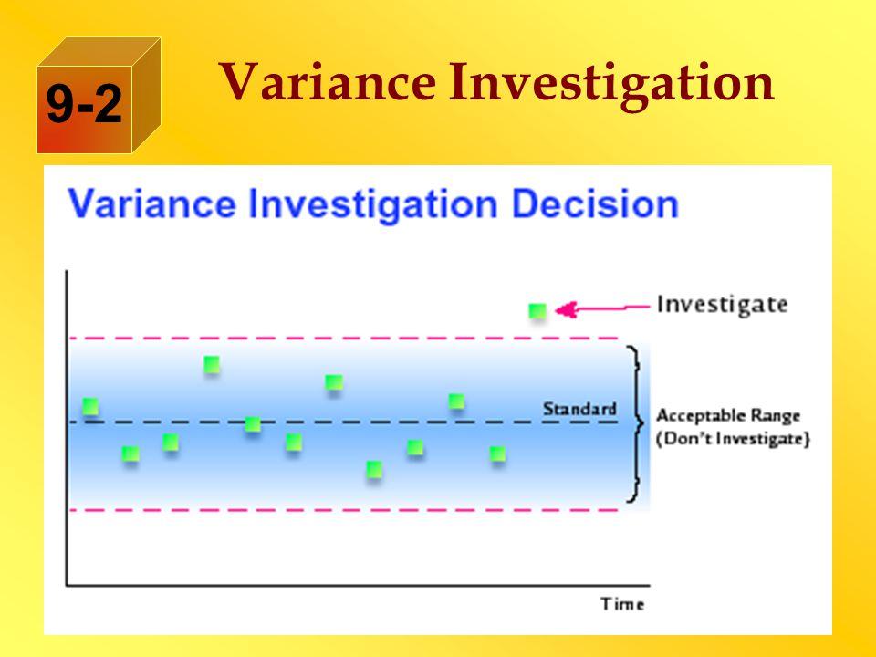 Variance Investigation 9-2