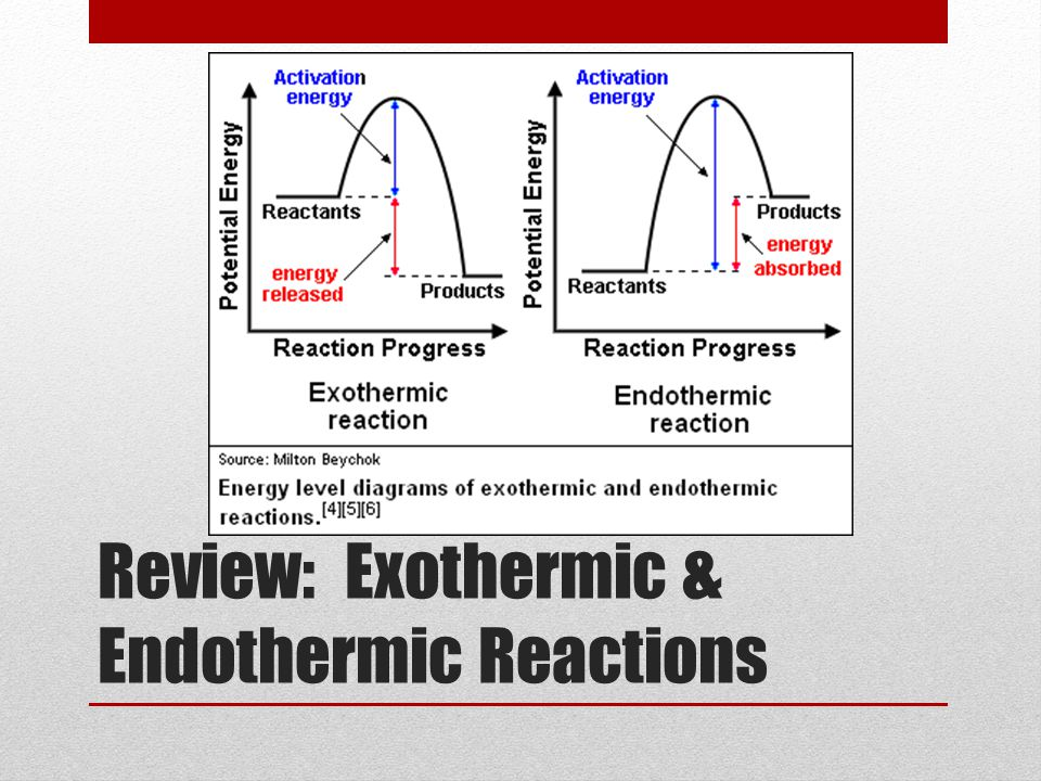 Is the sample undergoing endothermic or exothermic heat flow? A.) endothermic B.) exothermic