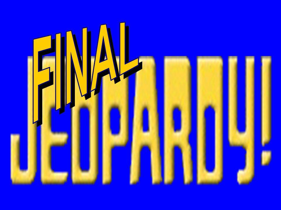 CATEGORY 5 - $500 Bernard Montgomery