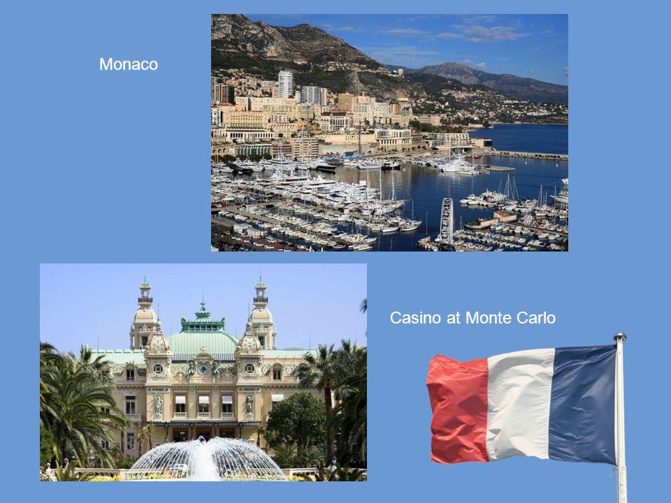 Monaco Casino at Monte Carlo