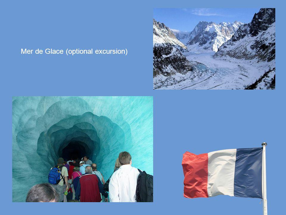 Mer de Glace (optional excursion)