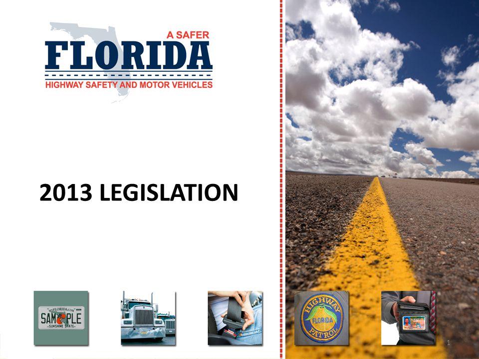 2013 LEGISLATION 1