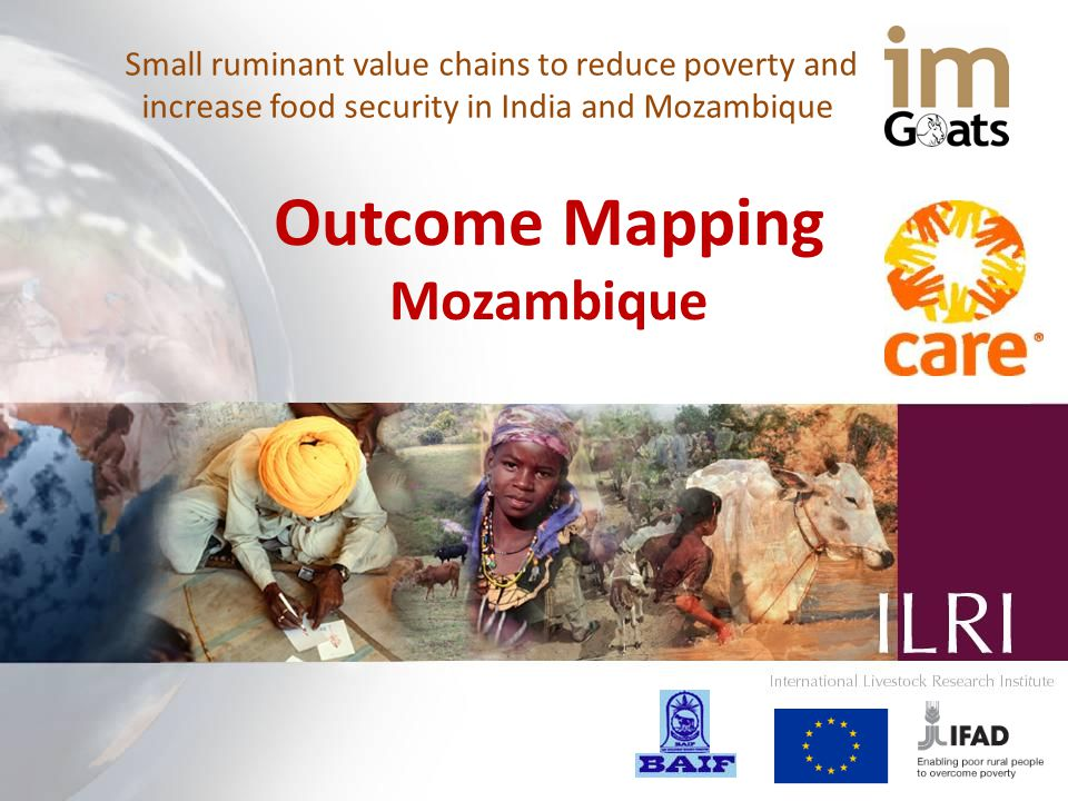 Small ruminant value chains to reduce poverty and increase food security in India and Mozambique Outcome Mapping Mozambique