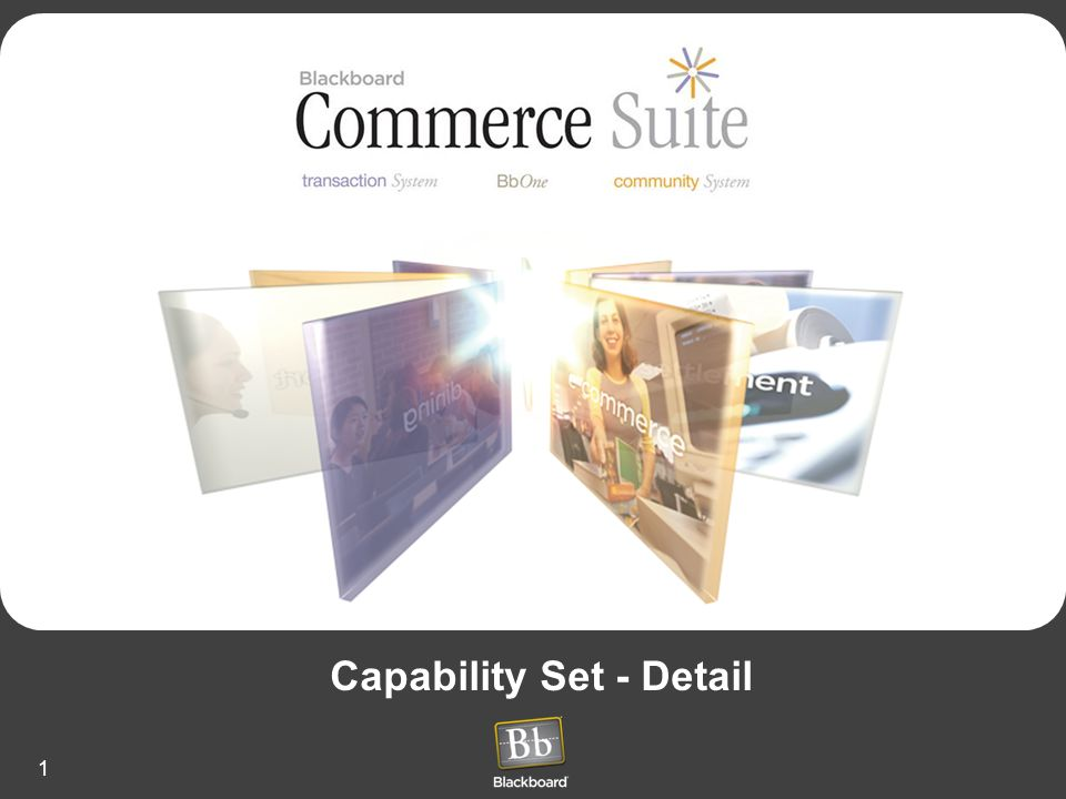 1 Capability Set - Detail