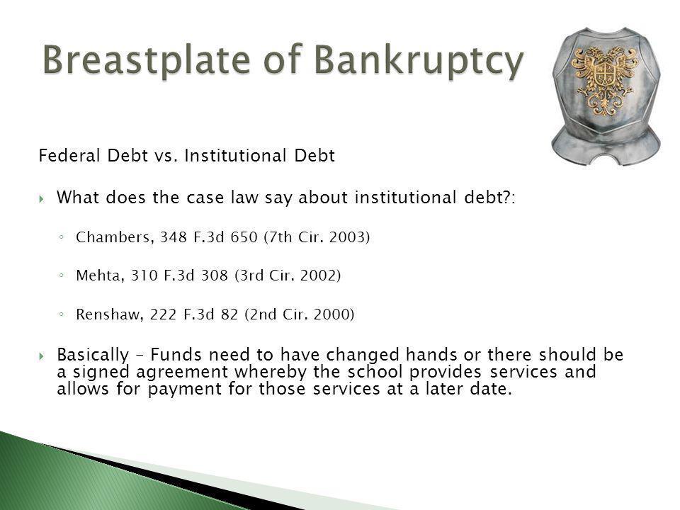 Federal Debt vs.
