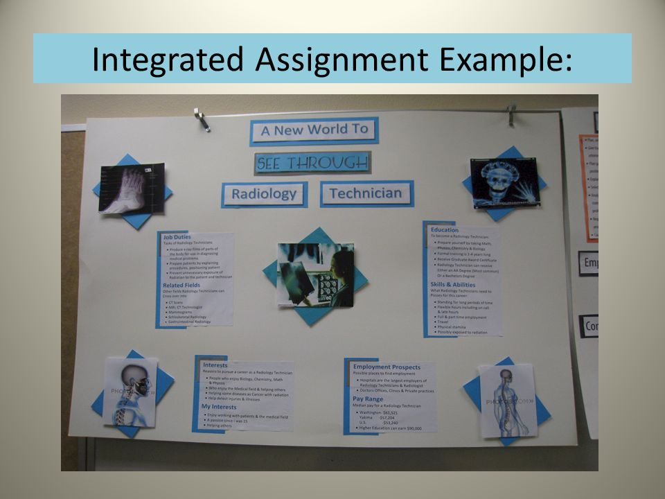 Integrated Assignment Example: